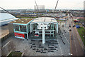 TQ3979 : Emirates Air Line terminal by Richard Croft