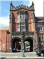 NZ2465 : Quadrangle Gateway (The Arches), by Stuart Logan