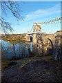 SH5571 : The Menai Suspension Bridge by Richard Hoare