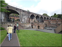 SJ6604 : Coalbrookdale railway viaduct by Stephen Wilks
