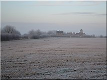 TA0609 : View to Mill Farm, Barnetby-le-Wold by Neil Theasby