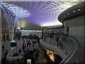 TQ3083 : Kings Cross railway station departure concourse by Steve  Fareham