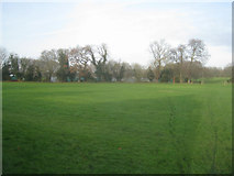 SU6050 : Open ground by Stratton Park by Given Up