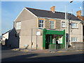 SS8382 : Corner fish and chip shop, Kenfig Hill by Jaggery