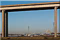 TM1641 : Through the Orwell Bridge by Ian Capper