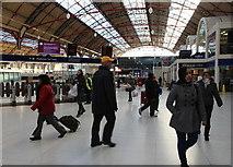 TQ2879 : Victoria Station, London SW1 by Christine Matthews