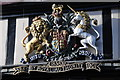 SO8932 : Royal Coat of Arms, Tewkesbury High Street by Philip Halling