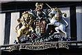 SO8932 : Royal Coat of Arms, Tewkesbury High Street by Philip Halling