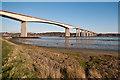 TM1641 : Orwell Bridge by Ian Capper