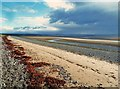 NX1050 : The edge of a storm looking up Luce Bay by Ann Cook