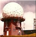 NS8810 : Air traffic control radar, Lowther Hill by Elliott Simpson