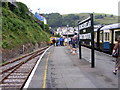SX8851 : Kingswear Station View by Gordon Griffiths