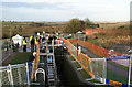 SP6989 : Foxton locks - stoppage open day by Chris Allen