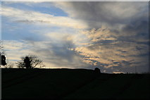 SP6989 : Dramatic sky over Foxton inclined plane by Chris Allen