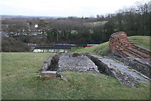 SP6989 : Foxton inclined plane - from the top by Chris Allen