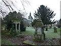 TL4090 : The church and graveyard in Doddington by Richard Humphrey