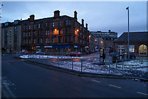 NS2776 : West Station junction by Thomas Nugent
