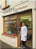 G2604 : Foxford: Doherty's Butcher's shop by Pamela Norrington