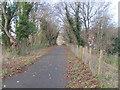 ST0988 : Taff Trail/Celtic Trail entering Rhydyfelin by John Light