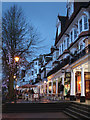 TQ5838 : The Pantiles at night by Oast House Archive
