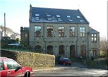 SE0724 : Side of former Methodist chapel, Washer Lane by Humphrey Bolton