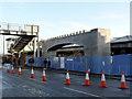 SK5739 : The bridge takes shape (4)  by Alan Murray-Rust