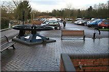 SP6989 : Foxton Locks - pulley wheel. by Chris Allen