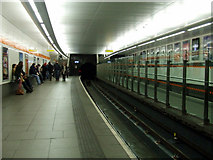NS5667 : Hillhead subway station by Thomas Nugent