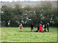 TL4355 : Grantchester Meadows: filming and floodwater by John Sutton