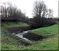 ST2784 : Nant-y-moor Reen near Coedkernew by Jaggery