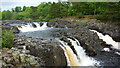 NY9027 : Low Force Waterfall by Richard Cooke