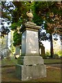 NS4075 : Memorial to John Denny, Town Clerk by Lairich Rig