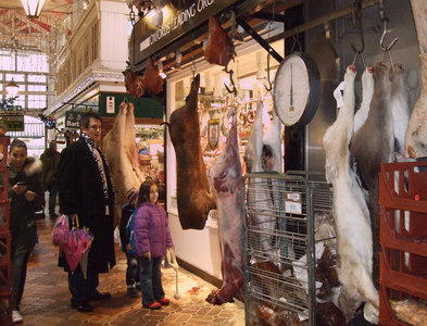 SP5106 : Venison, Covered Market, Oxford by Vieve Forward