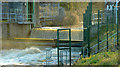 J2864 : Sluice gate, Lisburn/Hilden (5) by Albert Bridge