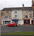 SO8005 : Three High Street shops, Stonehouse by Jaggery