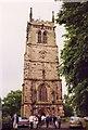 SJ7049 : St Chad, Wybunbury by John Salmon