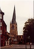 SK3871 : St Mary & All Saints, Chesterfield by John Salmon