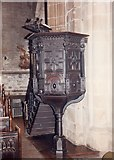 SK3871 : St Mary & All Saints, Chesterfield - Pulpit by John Salmon
