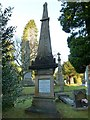 NS4075 : Memorial to John McKechnie by Lairich Rig