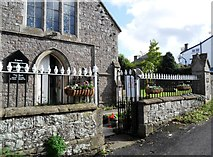 SO5504 : Entrance to St. Briavels Congregational Church by nick macneill