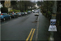 TQ3370 : Fox Hill, Upper Norwood: Christmas Day 2012 by Christopher Hilton