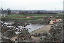 SJ5608 : Wroxeter Roman City ruins by Christopher Hilton