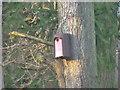 TF0721 : Woodcrete bird box by Bob Harvey