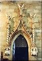 SK3237 : All Saints, Mackworth - Canopy by John Salmon