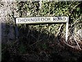 J1761 : Thornbrook Road sign by Kenneth  Allen