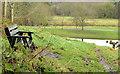 J3269 : Seat, Clement Wilson Park, Belfast by Albert Bridge
