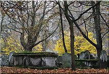 TQ3282 : Bunhill Burial Ground by Martin Addison