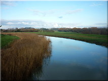 TA0832 : The River Hull from Sutton Road Bridge, Hull by Ian S