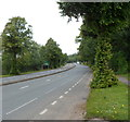 ST5476 : Portway approaches the Sylvan Way junction, Bristol by Jaggery