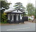 ST5376 : Porticoed house, Park Hill, Shirehampton, Bristol by Jaggery